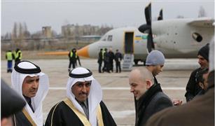 بالفيديو للمرة الاولي  تحليق اول طائرة سعودية اوكرانية متخصصة في مجال الحرب الإلكترونية