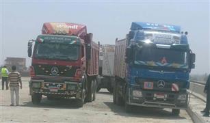 مرور القاهرة: منع سيارات النقل الثقيل من صعود كوبري شمال طرة