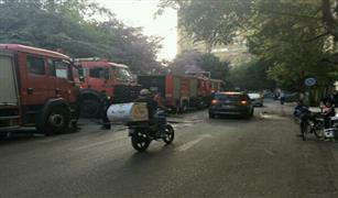 تحويلات مرورية بالزمالك لإمرار سيارات إطفاء نادي الجزيرة