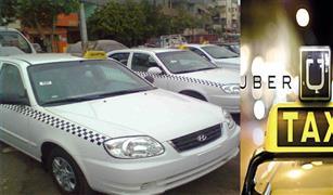 """بالفيديو.. زبون يواجه سائق تاكسي أبيض بعيوبه ومميزات «أوبر».. والسائق يرد """"أنتم الخسرانين"""""""