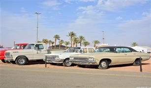 بالصور :رالي حائل 10 سيارات كلاسيكية عمرها 76 عاماً