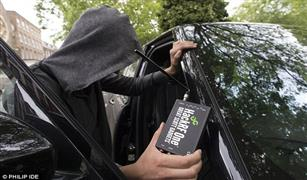 بالفيديو والصور.. حلم  اللصوص يتحقق في فتح أي سيارة بجهاز ثمنه أقل من 5 آلاف جنيه