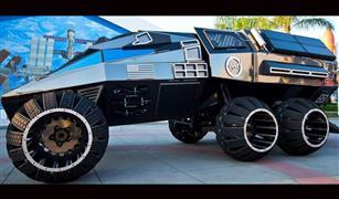 بالفيديو.. مركبة كهربائية بـ6 عجلات لرحلة الصيف إلى المريخ