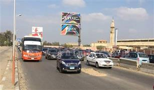 تصادم سيارتين أمام الكلية الحربية ونفق الميرغني.. وانتشار مروري مكثف بمحاور وميادين العاصمة