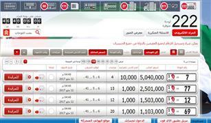 أحداها سجل 5 ملايين درهم.. شرطة أبوظبي تطرح 222 لوحة سيارة للمزايدة