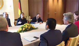 """نصر ومميش يبحثان مع رئيس """"سيمنس"""" تطوير النقل وإنشاء مركز تدريب في قناة السويس"""