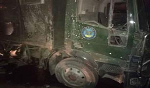 استشهاد ضابطان وإصابة 3 جنود بطريق الأوتوستراد إثر انفجار عبوة ناسفة