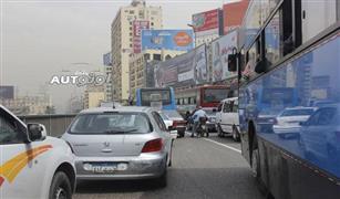 تقارير  متابعه الحاله المرورية فى القاهرة.. إحذروا كوبرى أكتوبر قبل الإفطار بساعه