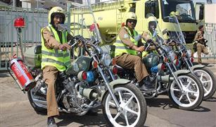 الدفاع المدني السعودي يستعين بدراجات نارية مجهزة بكاميرات حرارية وأجهزة استشعار