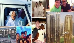 جاكي شان في مطاردة بسيارته الفارهة وسط دبي