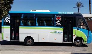 بالصور.محافظة القاهرة تدفع بخط تجريبي للأتوبيس الذكي