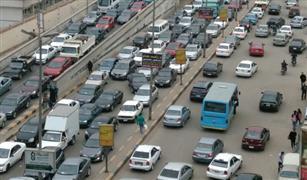 كثافات مرورية عالية على الطرق بعد أنتهاء أسبوع الأعياد
