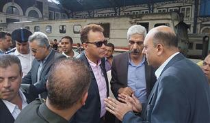أعمال تجديد شاملة بمحطة مصر في الإسكندرية.. والوزير يشدد على السلامة