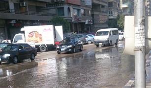 (النشرة المرورية) كثافات مرتفعة في شوارع القاهرة