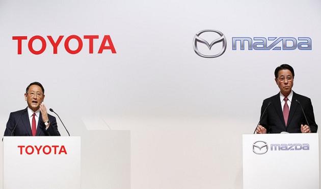 تويوتا تتعاون مع مازدا لصناعة سيارة كهربائية - الأهرام اوتو