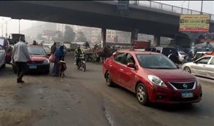 حادثان وتعطل أوتوبيس وراء زحام القاهرة صباح اليوم