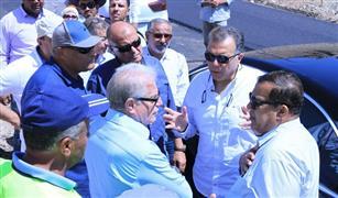 وزير النقل يستقبل آخر افواج الحج البرى بميناء نويبع البحري