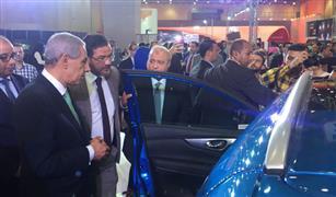 """قابيل بمعرض """"أوتوماك فورميلا"""": شركتان يبدأن تصنيع السيارات بمصر قريبا"""