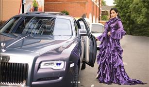 أحلام تنشر صور لسيارتها الأغلى في العالم.. وتكتب: لكل مقام مقال