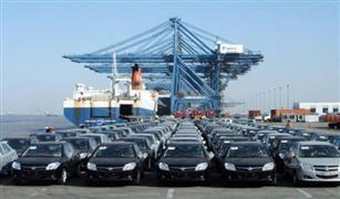 وصول ٦٧٩ سيارة جديدة إلى ميناء الإسكندرية