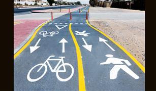 دبي تقترب من تنفيذ طريق للدراجات يجوب الإمارة بأكملها