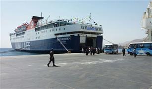 رفع درجة الاستعداد القصوى بميناء سفاجا لعودة 27 الف و 500 راكب من عمالة خدمة الحجاج