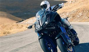 نيكن أول دراجة ثلاثية العجلات من ياماها مزودة بتقنية الميل