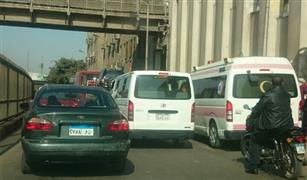 زحام شديد فى شارع السودان تعرف على الطرق البديله