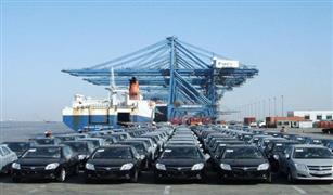 وصول ٦١٢ سيارة جديدة  إلى ميناء الإسكندرية  .