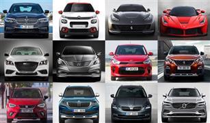 أسعار 2018 لجميع موديلات السيارات في مصر