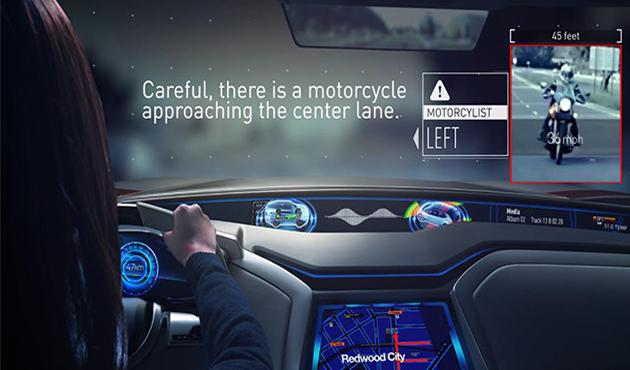 أل جي  تبتكر نظامًا  للتحكم الأوتوماتيكي في السيارة عند الحوادث - الأهرام اوتو