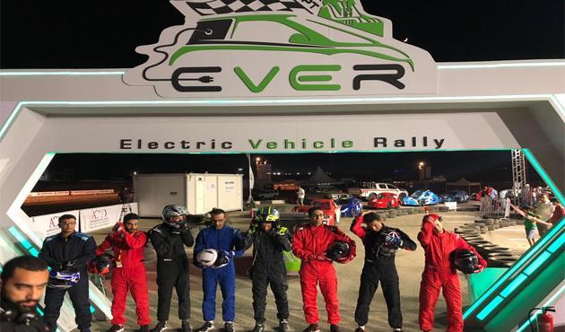 المجموعة البافارية لسيارات BMW ترعى اول رالى للسيارات الكهربائية فى مصر.