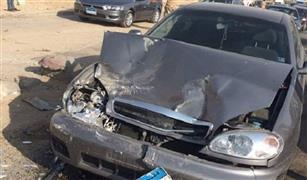 حادث تصادم سيارات بالثورة وجوزيف تيتو وكثافات متوسطة بالقاهرة