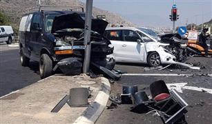 أعداد حوادث الطرق تنخفض في مصر خلال النصف الأول من 2018