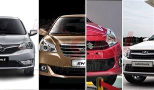 سيارات زيرو يمكنك شرائها بسعر من 130 الي 175 ألف في مصر