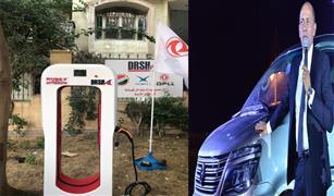 انفراد.. أول شاحن سيارات كهربائي بأياد مصرية من مصنع مصرى بخبرة صينية /صورة