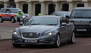موكب رئيسة وزراء بريطانيا يتعرض لحادث مروري في بلجيكا