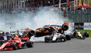 السائقة فلورش تتعهد بالعودة لسباقات فورمولا بعد حادث خطير