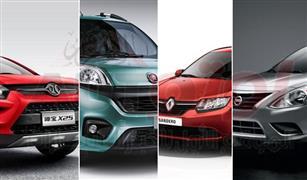 ياباني وفرنسي وإيطالي.. سيارات جديدة أسعارها من 200 ألف إلى 225 ألف جنيه