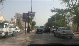 تعطل ٣ سيارات على كوبرى أكتوبر القادم من شرق القاهرة  تجاه وسط البلد والجيزة.