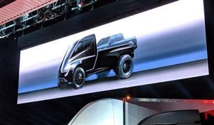 """""""تسلا"""" تكشف الستار عن نموذج أولي للشاحنتها الكهربائية"""