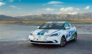 شانجان تعرض سيارتها الكهربائية أيدو في السعودية