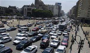 كثافات مرورية عالية على كوبرى أكتوبر بسبب تصادم سيارتين.. وانقلاب موتوسيكل عند مطلع الدائرى
