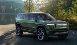 """لمبرغيني تستعرض نموذجها الجديد من سيارات """"Rivian"""" رباعية الدفع الفاخرة."""