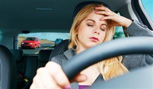 احترس.. الخمول أثناء القيادة قد يكون قاتلا