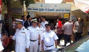 القبض على سماسرة التراخيص بوحدات مرور القاهرة و23 منادي سيارات
