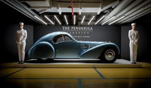 بالفيديو.. بوجاتي كوبيه 1936 تفوز بجائزة أفضل سيارة كلاسيكية