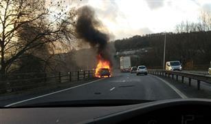 انقلاب شاحنة لنقل الغاز يتسبب في كارثة بالصين| صور وفيديو