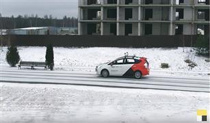 بالفيديو.. المنافس الروسي لجوجل يختبر سيارة ذاتية القيادة خلال عاصفة ثلجية