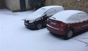 مصرية في فرنسا تحكي تجربتها مع السيارة في درجة حرارة 15 تحت الصفر